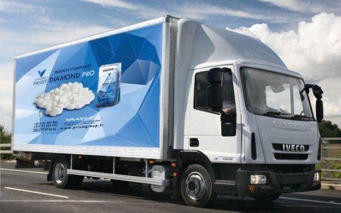 Nous livrons aujourd'hui sur tout le territoire National Tunisien à l'aide de nos 3 camions poids lourds (>5 Tonnes)